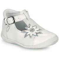 Topánky Dievčatá Balerínky a babies GBB EFIRA Biela