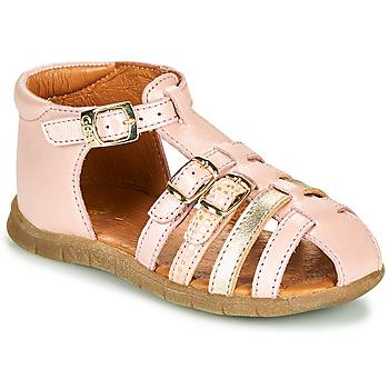 Topánky Dievčatá Sandále GBB PERLE Ružová