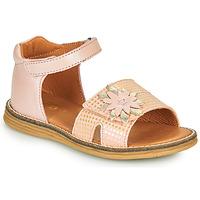 Topánky Dievčatá Sandále GBB SATIA Ružová / Vipera