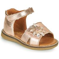 Topánky Dievčatá Sandále GBB SATIA Ružová / Zlatá