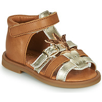 Topánky Dievčatá Sandále GBB CARETTE Hnedá