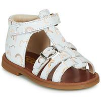 Topánky Dievčatá Sandále GBB PHILIPPINE Biela