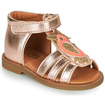 Topánky Dievčatá Sandále GBB FRANIA Ružová / Zlatá
