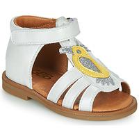Topánky Dievčatá Sandále GBB FRANIA Biela