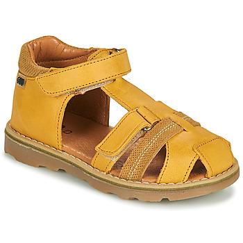 Topánky Chlapci Sandále GBB MITRI Žltá