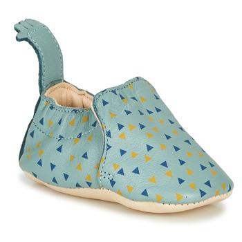 Topánky Deti Papuče Easy Peasy BLUMOO Modrá