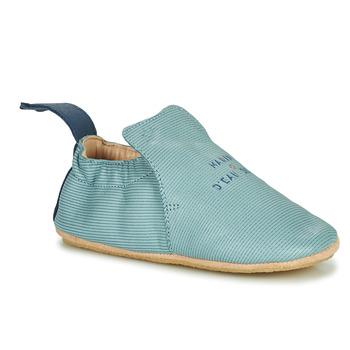 Topánky Deti Papuče Easy Peasy BLUBLU Modrá