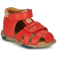 Topánky Chlapci Sandále GBB NUVIO Červená