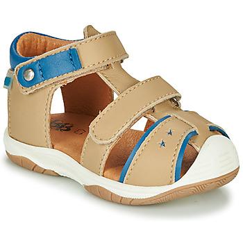 Topánky Chlapci Sandále GBB EUZAK Béžová