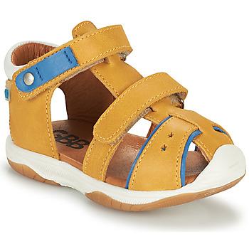 Topánky Chlapci Sandále GBB EUZAK Žltá