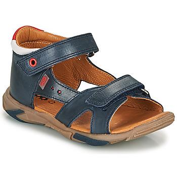 Topánky Chlapci Sandále GBB OBELO Modrá