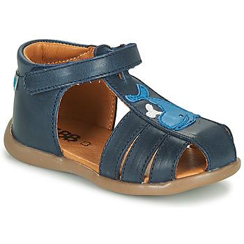 Topánky Chlapci Sandále GBB IROKO Modrá