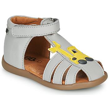 Topánky Chlapci Sandále GBB TULIO Šedá