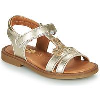 Topánky Dievčatá Sandále GBB MURIA Zlatá