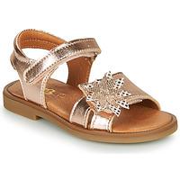 Topánky Dievčatá Sandále GBB UPPLA Ružová / Zlatá