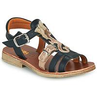 Topánky Dievčatá Sandále GBB PALOMA Námornícka modrá
