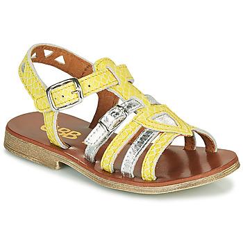 Topánky Dievčatá Sandále GBB FANNI Žltá