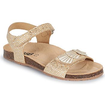 Topánky Dievčatá Sandále GBB FAZZI Zlatá