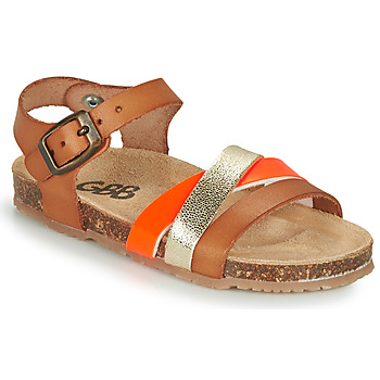 Topánky Dievčatá Sandále GBB LULUNE Hnedá