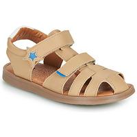 Topánky Chlapci Sandále GBB MARINO Béžová / Nitro