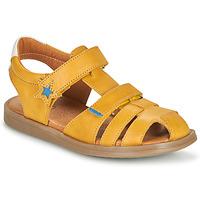 Topánky Chlapci Sandále GBB MARINO Žltá