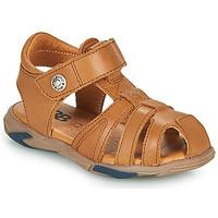 Topánky Chlapci Sandále GBB LUCA Hnedá