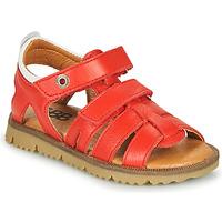 Topánky Chlapci Sandále GBB JULIO Červená