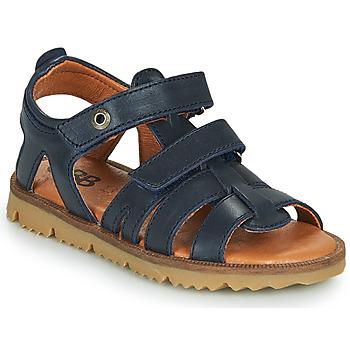 Topánky Chlapci Sandále GBB JULIO Modrá