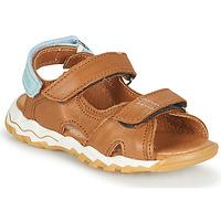Topánky Chlapci Sandále GBB DIMOU Hnedá