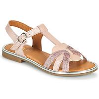 Topánky Dievčatá Sandále GBB EGEA Ružová