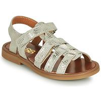 Topánky Dievčatá Sandále GBB KATAGAMI Béžová / Zlatá