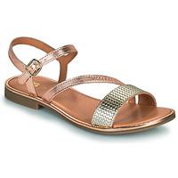 Topánky Dievčatá Sandále GBB FANA Ružová