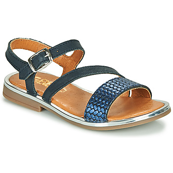 Topánky Dievčatá Sandále GBB FANA Modrá