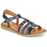 Topánky Dievčatá Sandále GBB OLALA Modrá