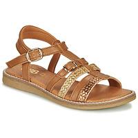 Topánky Dievčatá Sandále GBB OLALA Hnedá