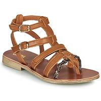 Topánky Dievčatá Sandále GBB NOVARA Hnedá