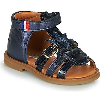 Topánky Dievčatá Sandále GBB PAULETTE Námornícka modrá