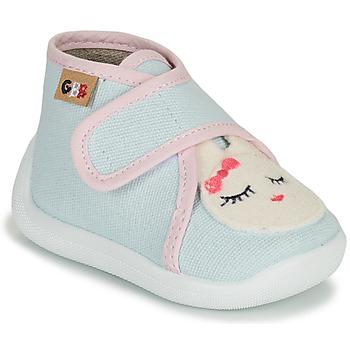 Topánky Dievčatá Papuče GBB APODIE Modrá
