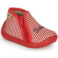 Topánky Dievčatá Papuče GBB APOLA Červená