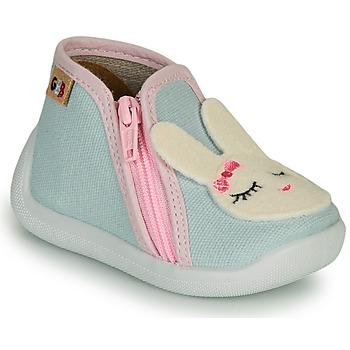Topánky Dievčatá Papuče GBB APOLA Modrá