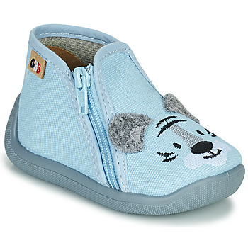 Topánky Dievčatá Papuče GBB APOMO Modrá