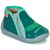 Topánky Dievčatá Papuče GBB APOMO Zelená