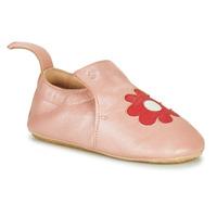 Topánky Deti Papuče Easy Peasy BLUBLU FLEURS Ružová