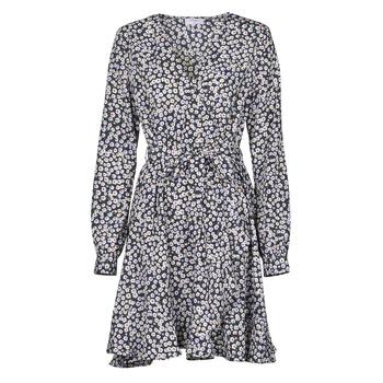 Oblečenie Ženy Krátke šaty Betty London NAZUR Námornícka modrá / Biela