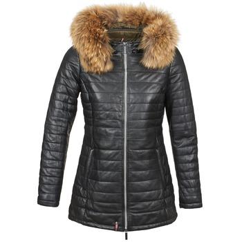 Oblečenie Ženy Vyteplené bundy Oakwood 61679 Čierna