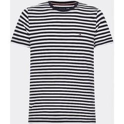 Oblečenie Muži Tričká s krátkym rukávom Tommy Hilfiger MW0MW14566 Blu