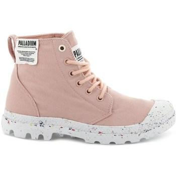 Topánky Ženy Členkové tenisky Palladium Manufacture Pampa HI Ružová