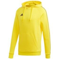 Oblečenie Muži Mikiny adidas Originals Core 18 Hoody Žltá