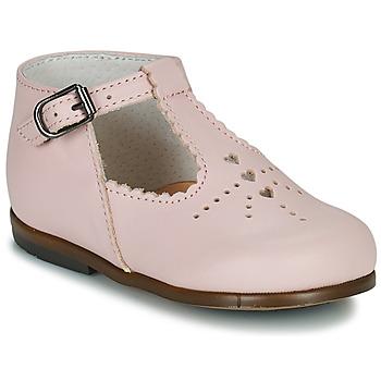 Topánky Dievčatá Balerínky a babies Little Mary FLORIANE Ružová