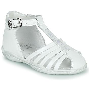 Topánky Dievčatá Sandále Little Mary VOLGA Biela